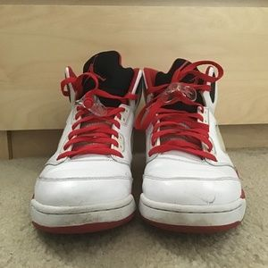 OG Fire Red Jordan 5's Size 11.5